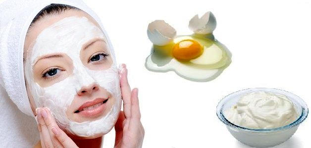 Egg White Facial Mask
