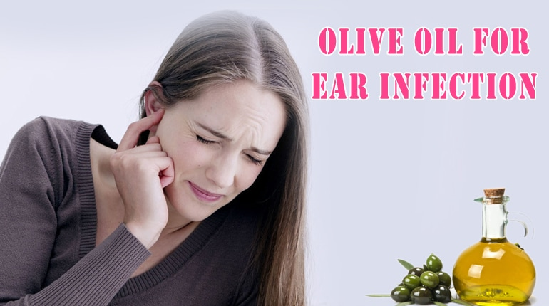 Olive Oil for Ear pimple