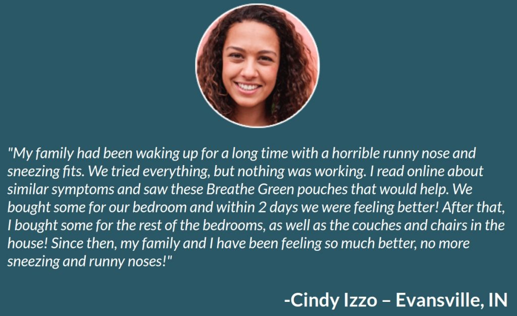 Breathe-Green-Dust-Mites-Testimonial
